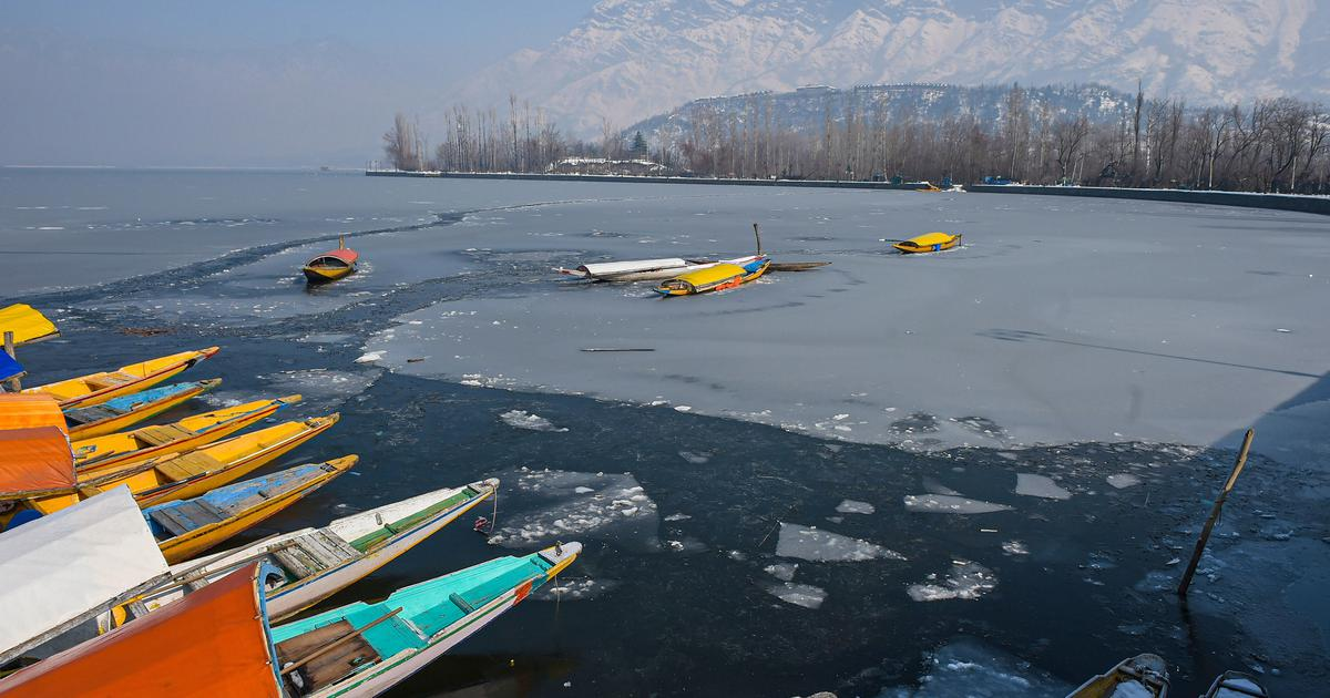 Srinagar records coldest night in 25 years, temperature falls to -8.4 degrees Celsius