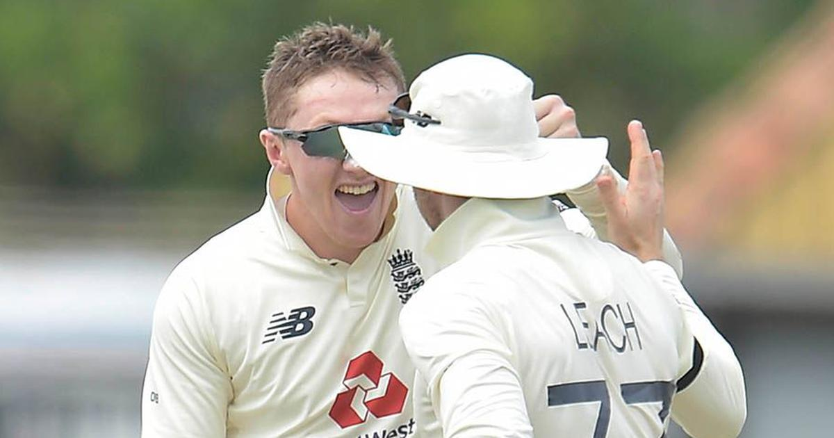 First Test: Dom Bess' five-for puts England in control against Sri Lanka on day one
