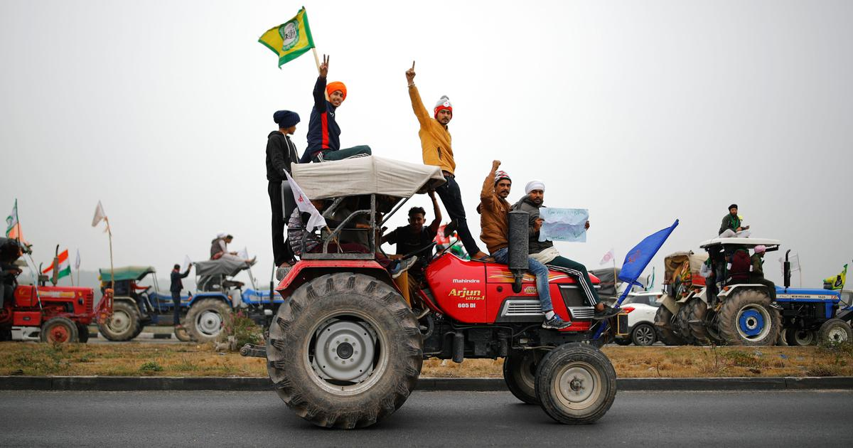Republic Day tractor rally: Police should decide on entry of farmers into Delhi, says SC