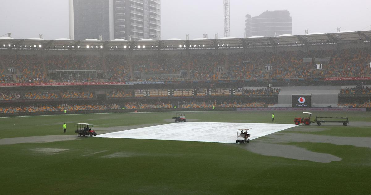 Australia vs India Brisbane Test Rain thunderstorm in weather forecast for Day 5 at Gabba