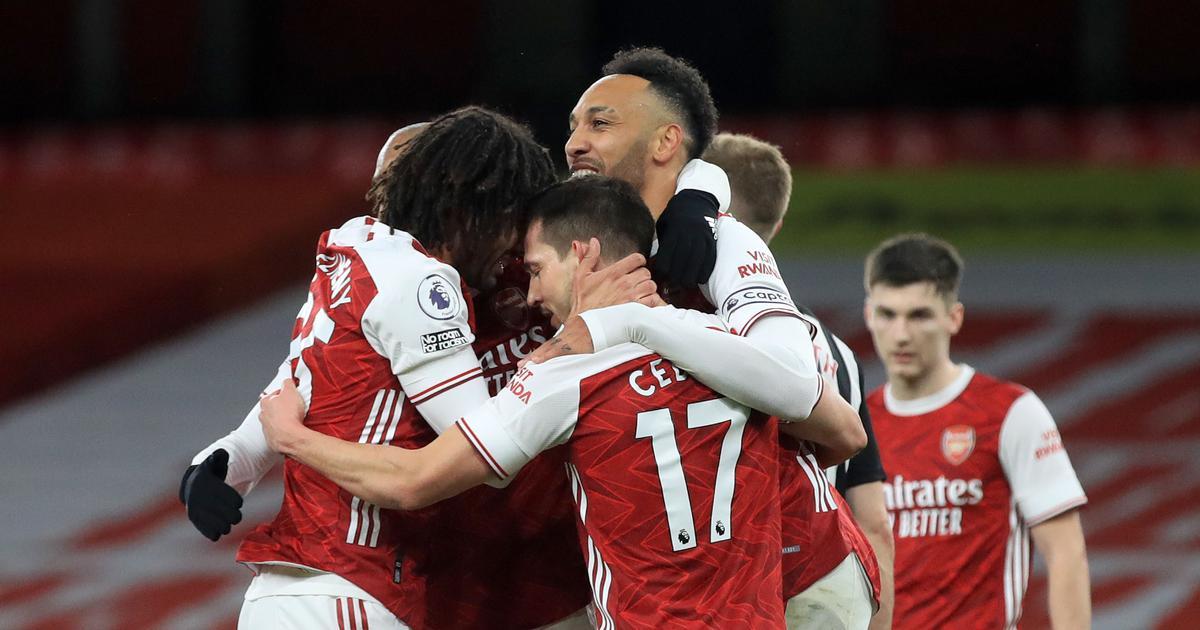 Premier League: Aubameyang nets brace as Arsenal earn 3-0 win over Newcastle United