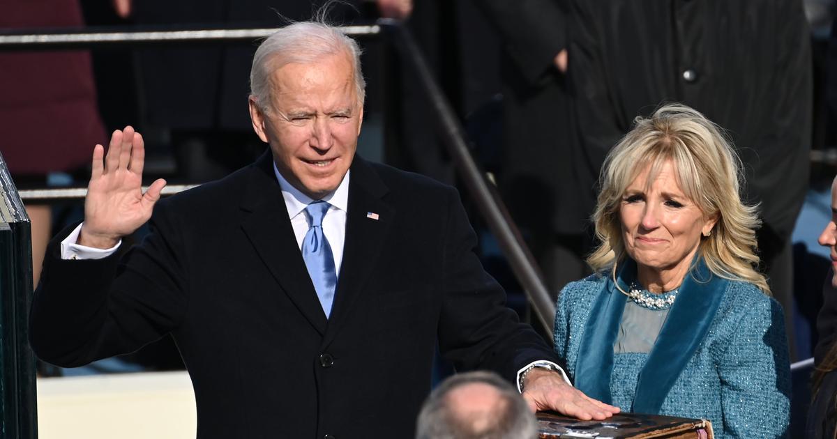 Joe Biden sworn in as 46th president of the US, Kamala Harris becomes first woman vice president
