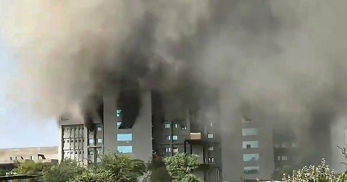 Five dead after massive fire at Pune's Serum Institute plant, Adar Poonawalla says 'deeply saddened'