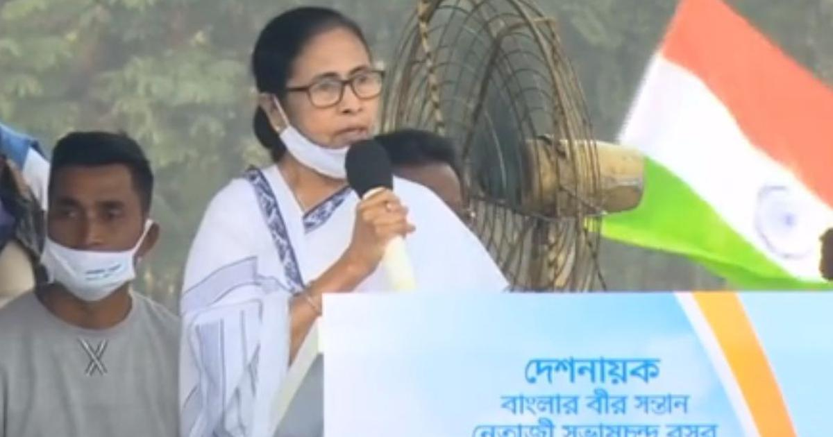 'We don't celebrate Netaji's birthday only in election years': Mamata Banerjee hits out at BJP