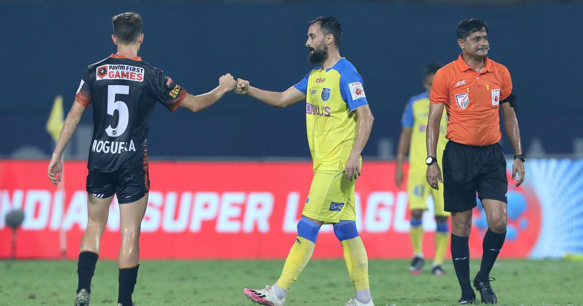 ISL: Ten-man FC Goa hold Kerala Blasters to strengthen place in the top four