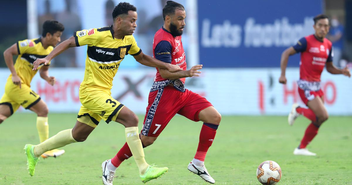 ISL: Jamshedpur FC and Hyderabad FC split points after goalless draw