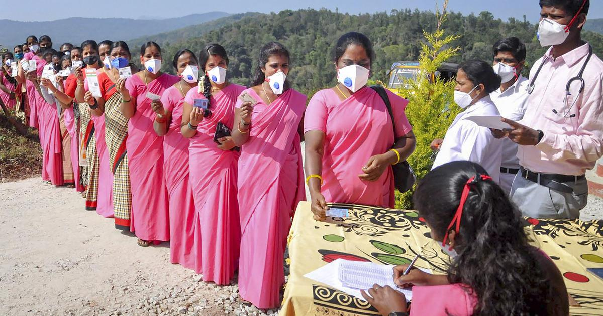 Coronavirus: India reports 11,067 new cases, more than 66 lakh vaccinated so far