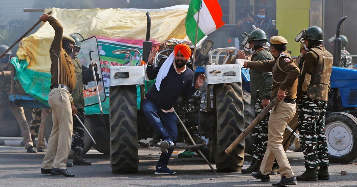 Chennai school calls protesting farmers 'violent maniacs' in exam paper, stirs row