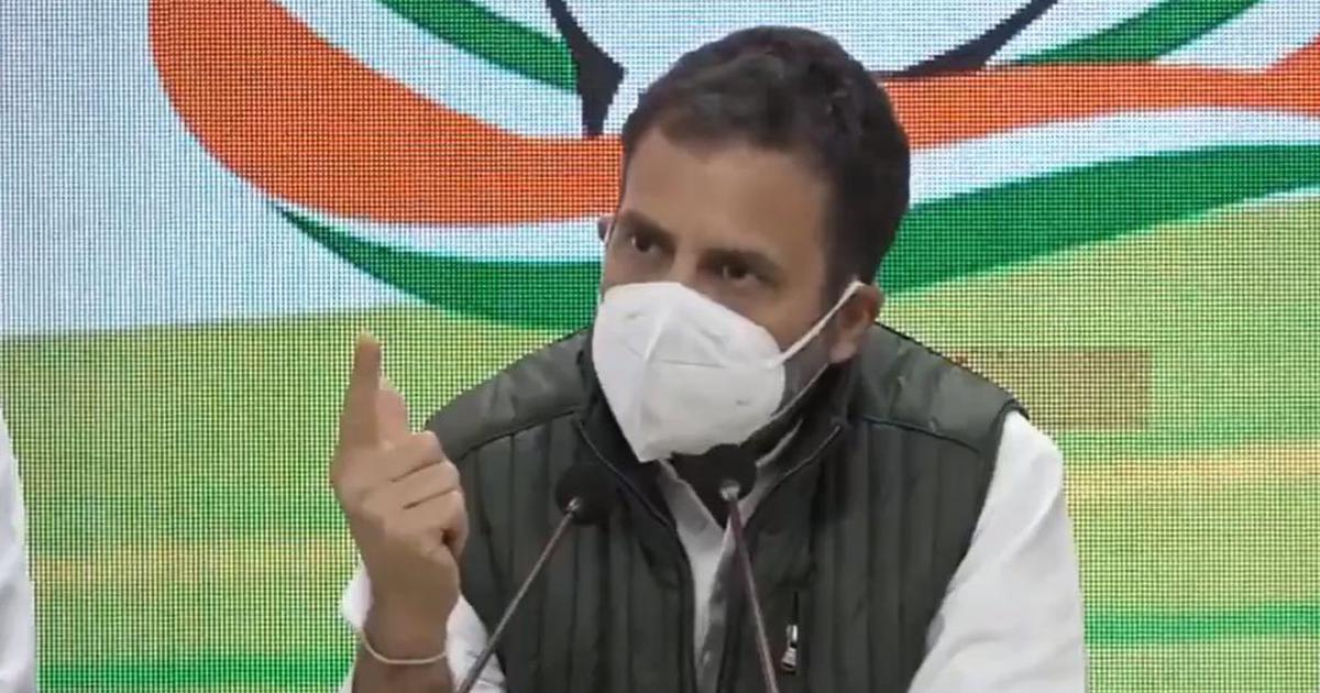 Farm laws: 'Do not move an inch,' Rahul Gandhi tells protesting farmers