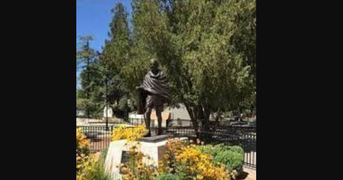 India condemns vandalising of Mahatma Gandhi statue in US, calls it 'malicious act'