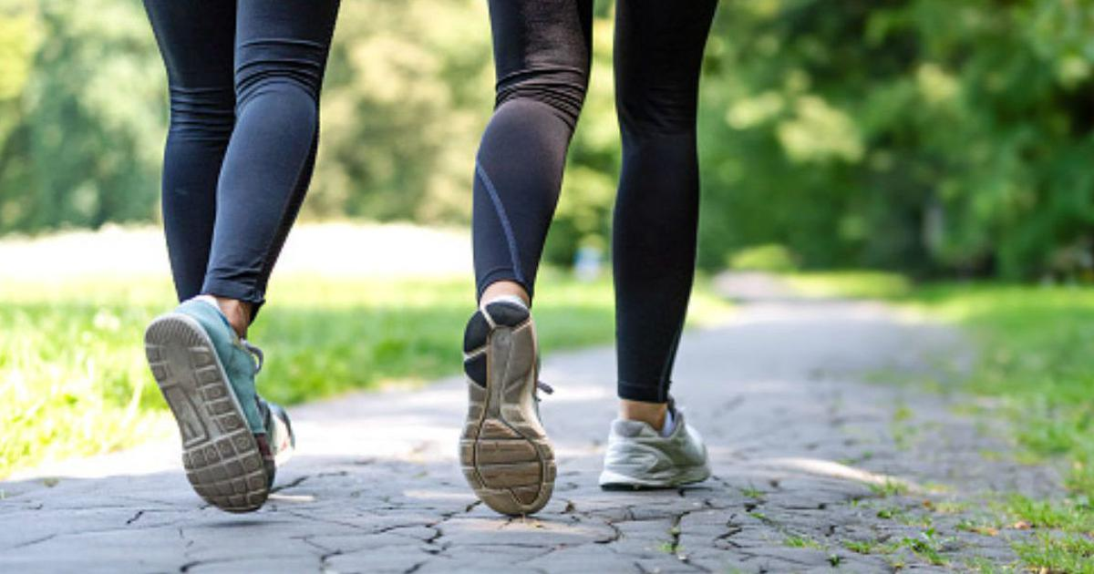 Fitness watch: Ten thousand steps a day is great but even half the number will do the trick