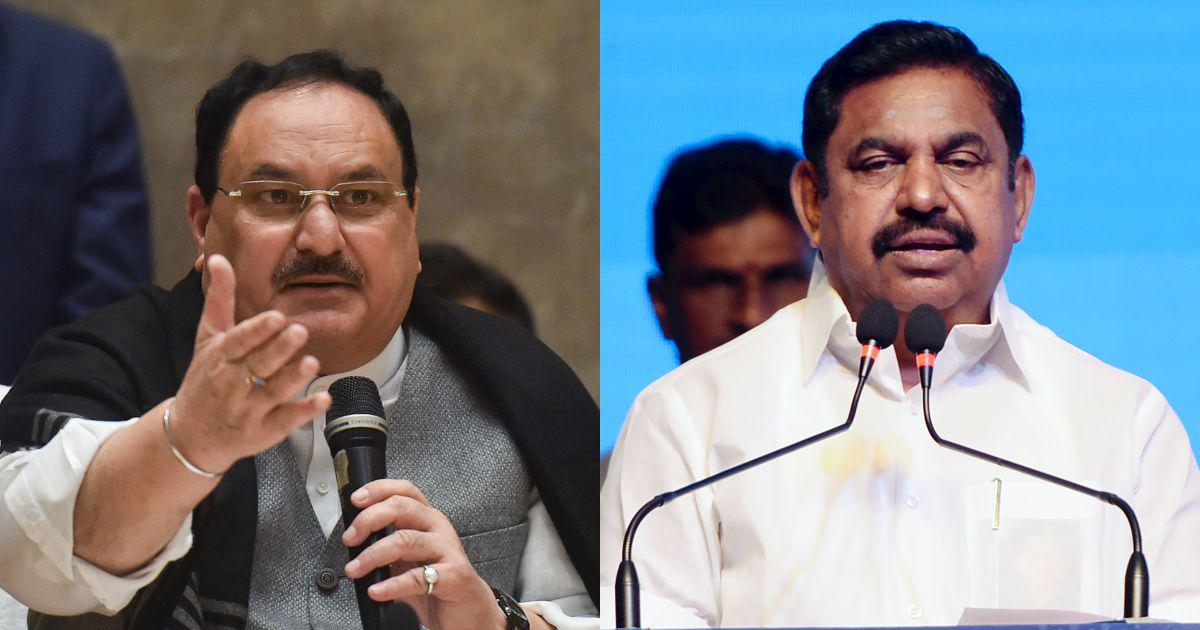 BJP will ally with AIADMK in Tamil Nadu ahead of state elections, says JP Nadda