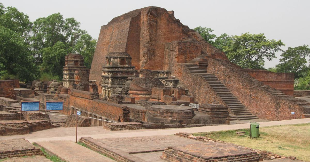 What the ruins of the original Nalanda university tell us about an old civilisation of India