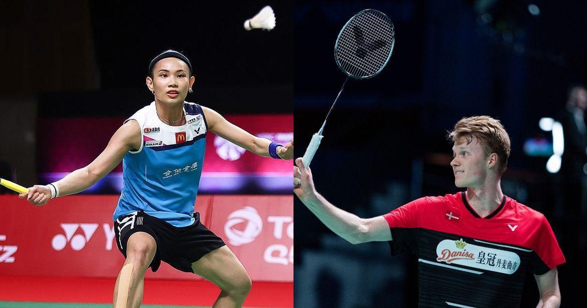 Watch highlights: Tai Tzu Ying, Anders Antonsen win men's singles titles at BWF World Tour Finals