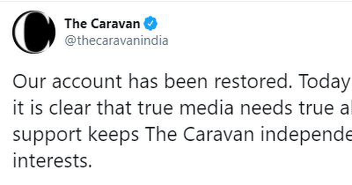 Twitter restores Caravan, Kisan Ekta Morcha and other accounts hours after withholding them