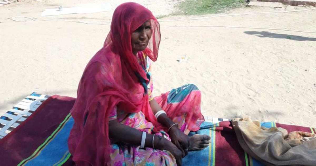 In Rajasthan, widows of stone miners who died of silicosis have no choice but to return to mining