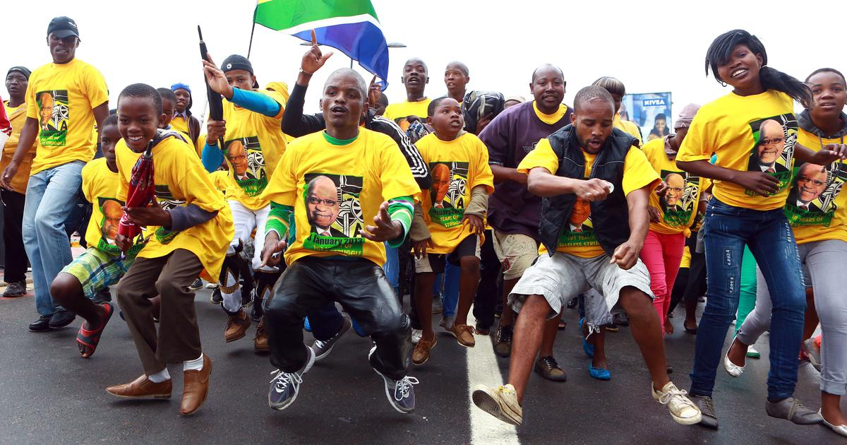 How the southern African toyi-toyi protest dance travelled across the continent