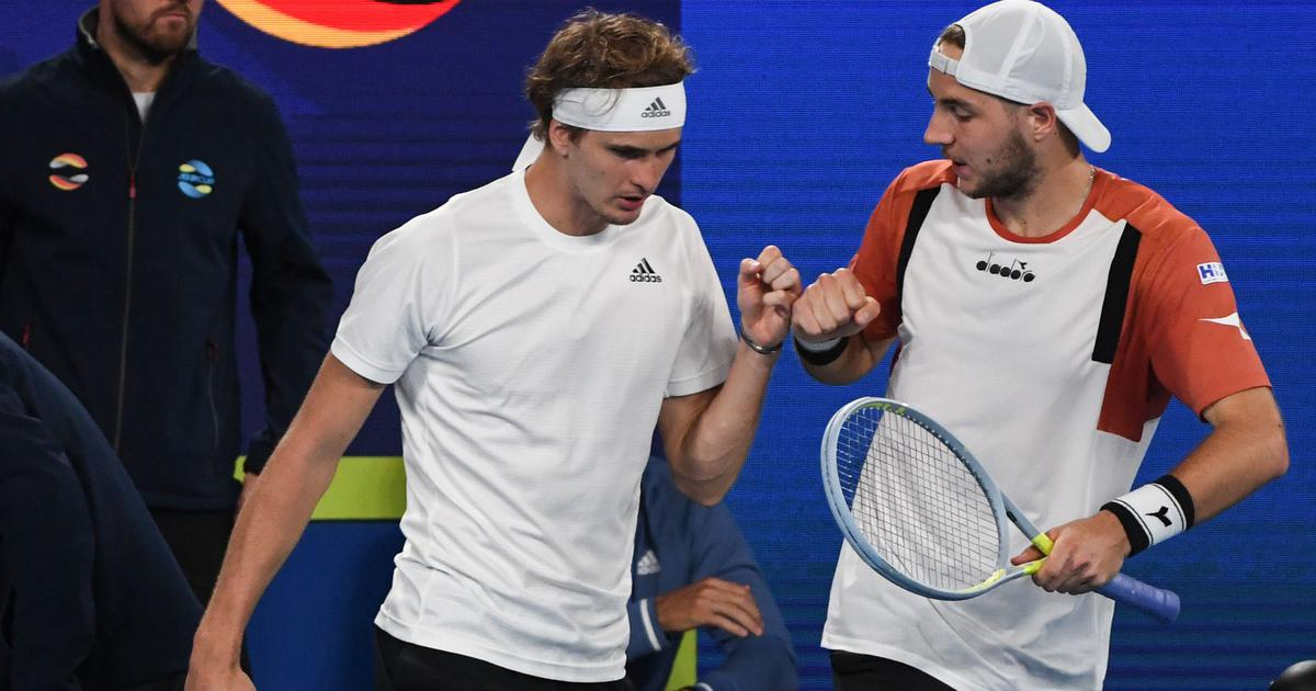 ATP Cup: Djokovic beats Zverev but Germany end Serbia's title defence to reach semi-finals