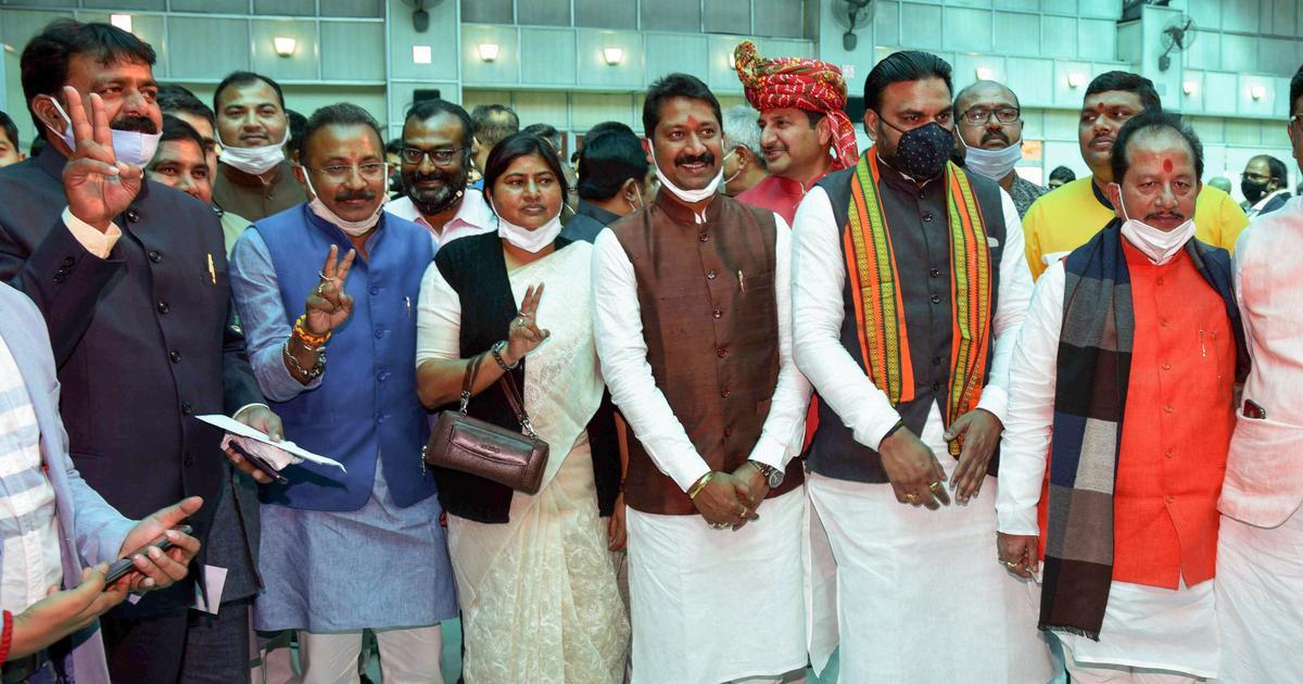 Bihar: Nitish Kumar expands Cabinet, 17 new ministers including Shahnawaz Hussain take oath