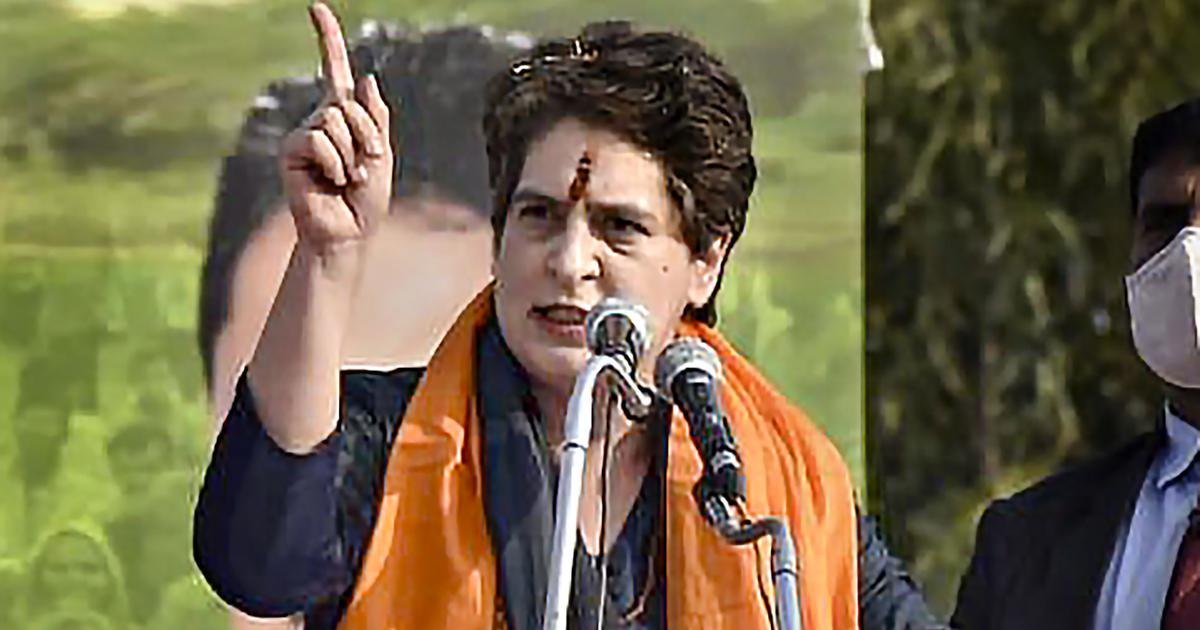 Farm laws: PM Modi had time to visit China, Pakistan but not farmers, says Priyanka Gandhi in UP