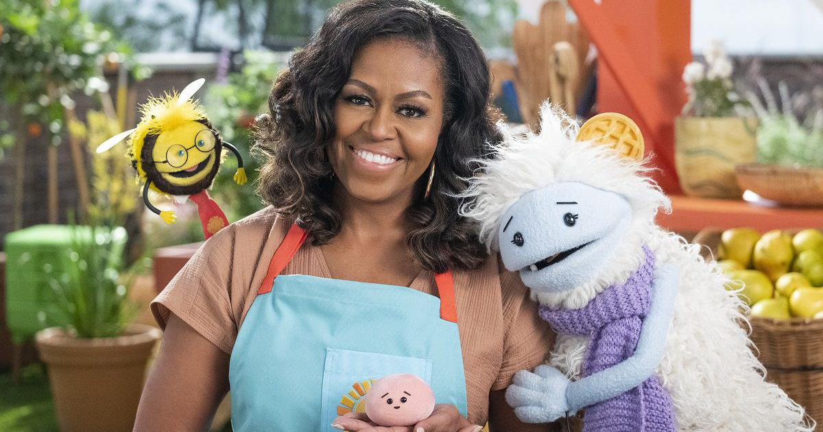 'Waffles + Mochi' trailer: Michelle Obama stars in show about children and home cooking