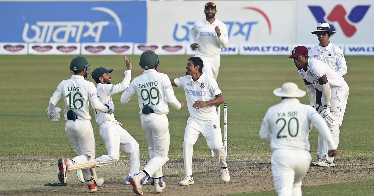 Second Test: Spinners give Bangladesh hope after West Indies take healthy first-innings lead