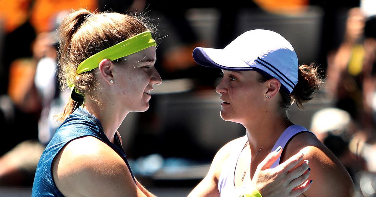 Australian Open: Karolina Muchova stuns world No 1 Ash Barty in three sets to reach semi-finals
