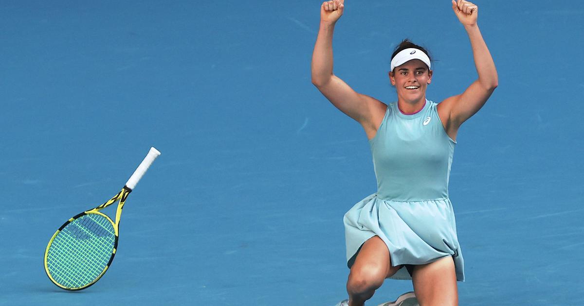 Watch highlights: Jennifer Brady reaches first Grand Slam final with 3-set win over Karolina Muchova