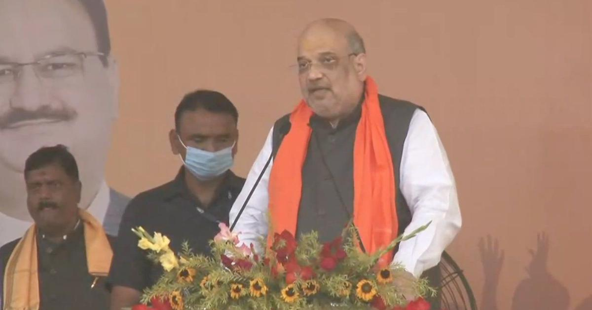 West Bengal: 'Not even a bird will be allowed from across the border if BJP wins,' says Amit Shah