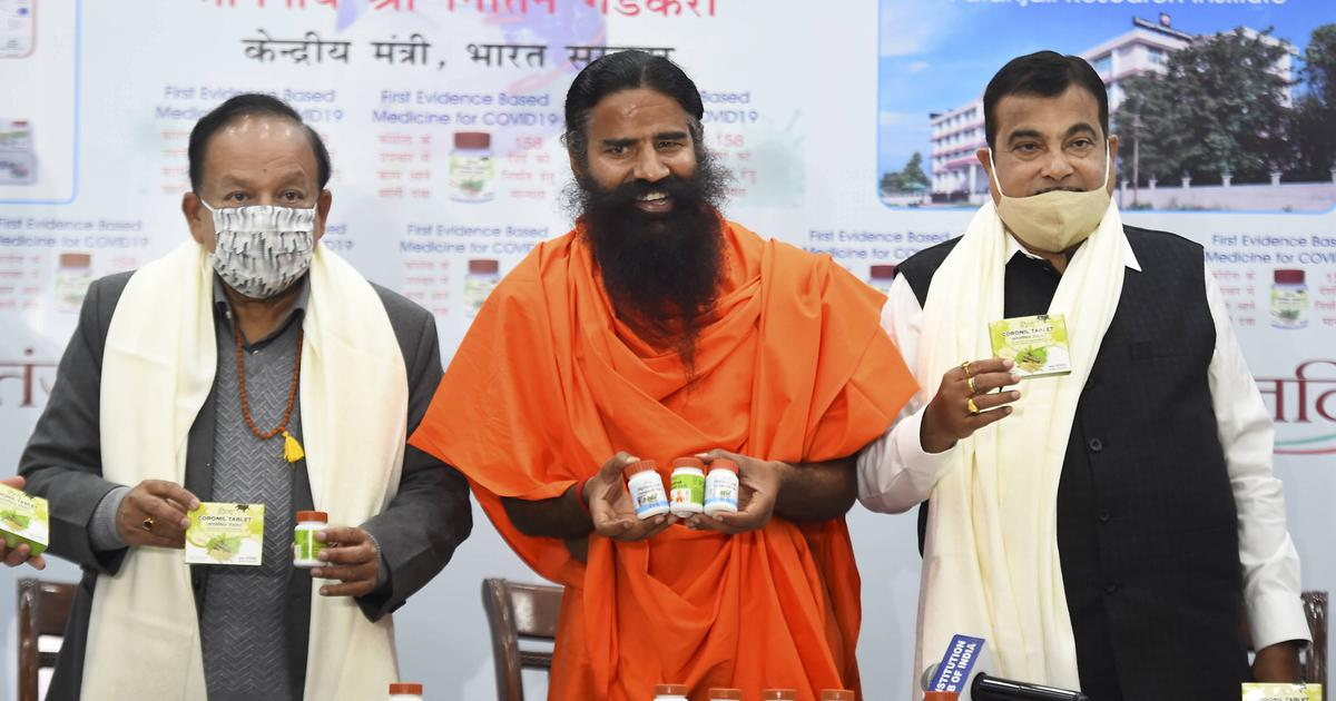 Patanjali releases research paper on Coronil, claims it 'first evidence-based medicine' for Covid-19
