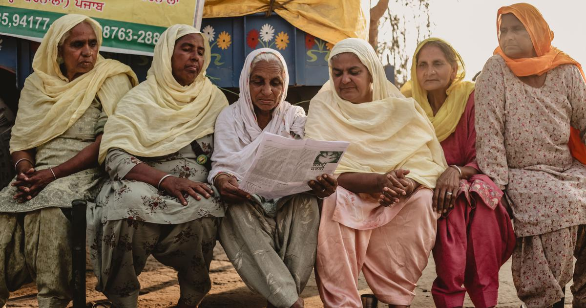 Women farmers now have the space to write their own stories of protest – and more