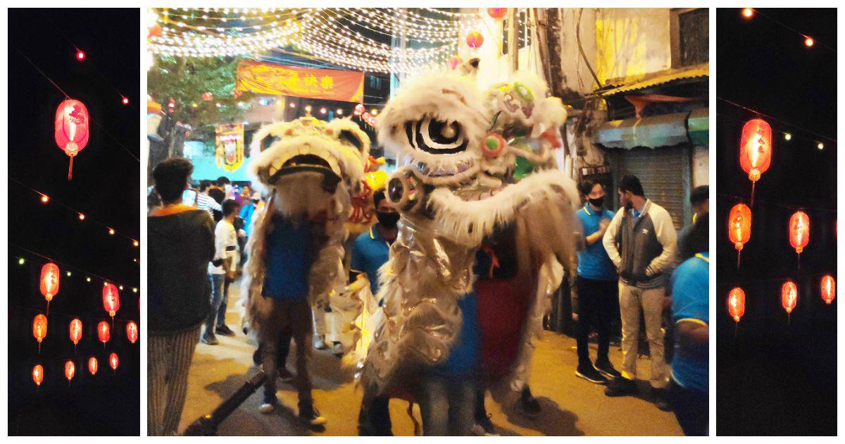 In Kolkata, dragon dances and plates of biriyani on a quiet, Covid-struck Chinese New Year's day