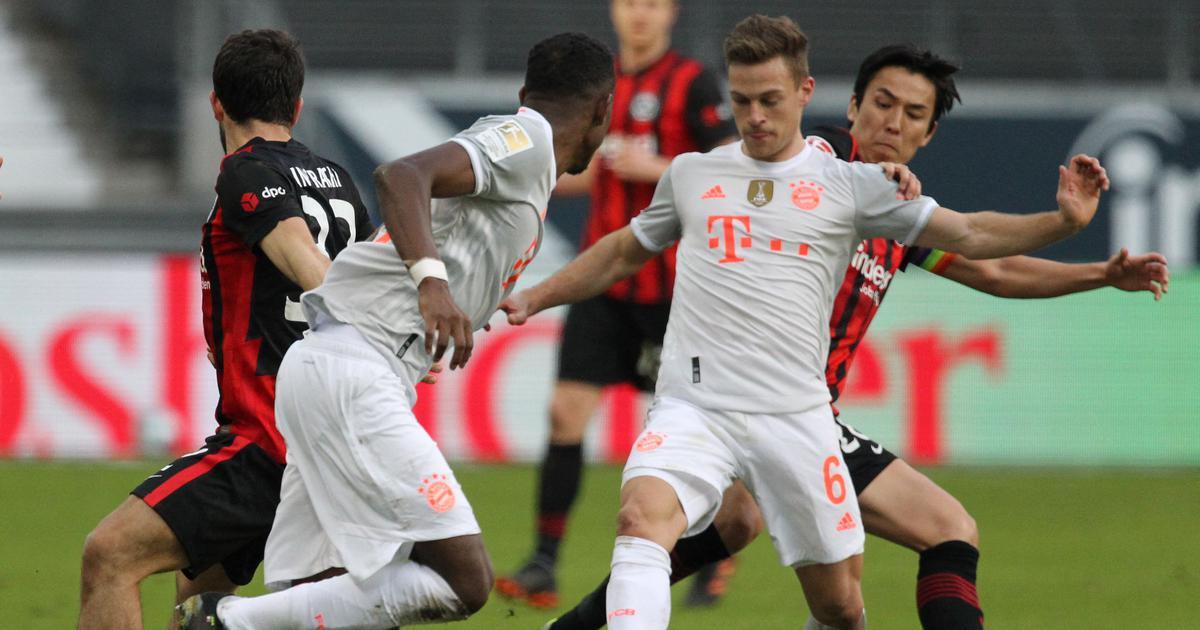 Bundesliga: Bayern Munich crash to defeat at Frankfurt, Haaland stars as Dortmund win Ruhr derby