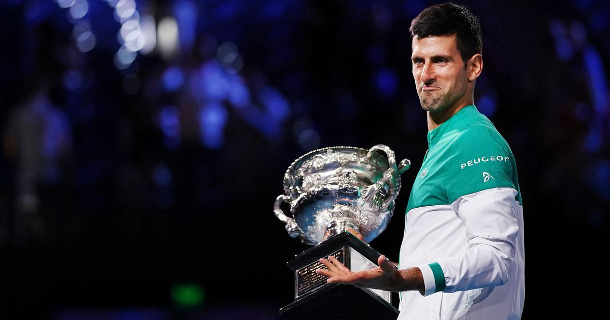 Watch: Djokovic on inspiration from Federer and Nadal, playing with a muscle tear at Aus Open & more