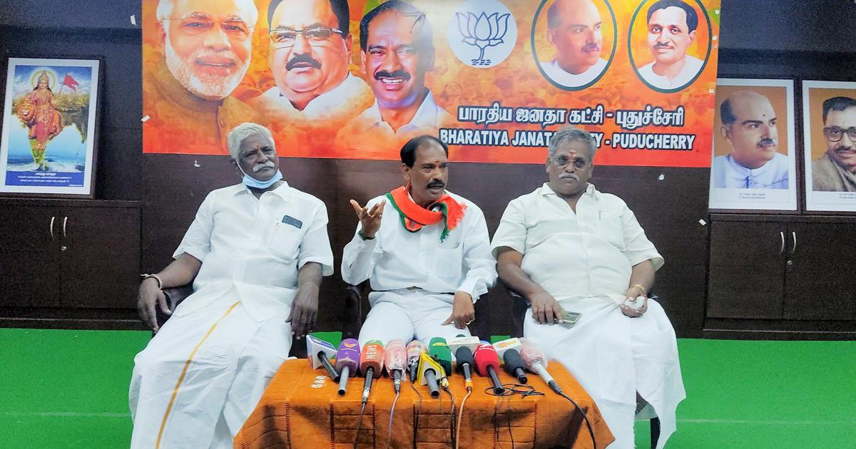 Puducherry crisis: BJP says it will not stake claim to form government after Congress loses power