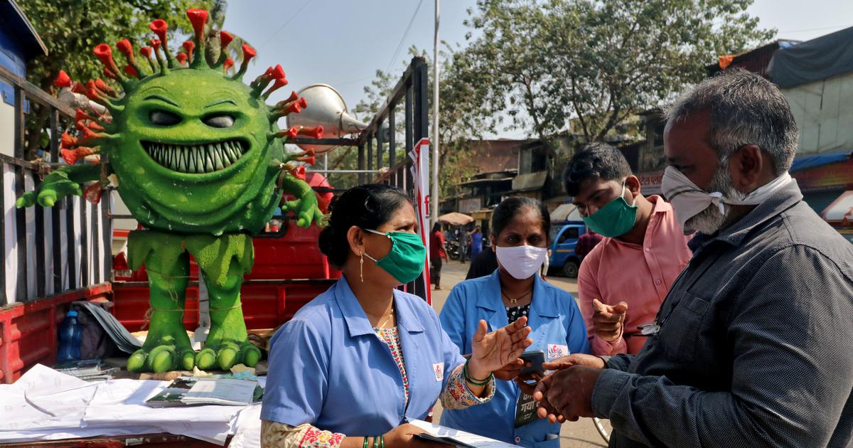 Coronavirus: Five states account for 86% of cases reported on Monday