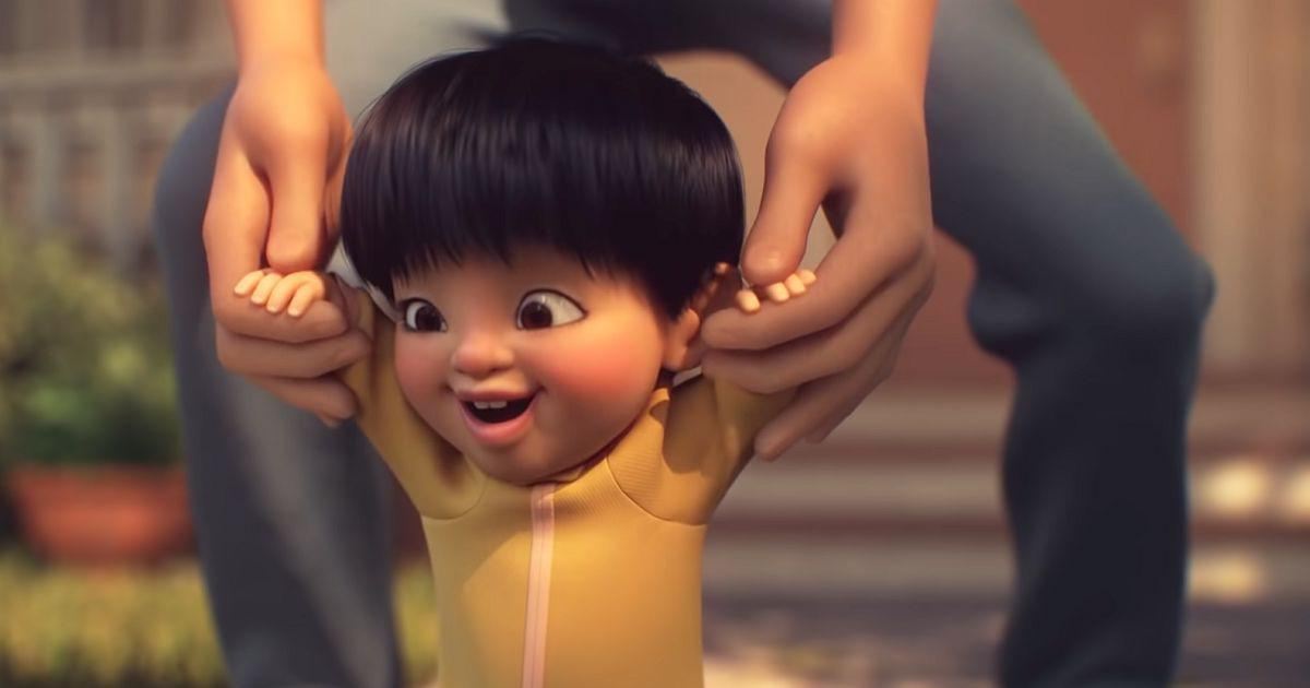 Watch: In Pixar short film 'Float', a kid with an unusual gift