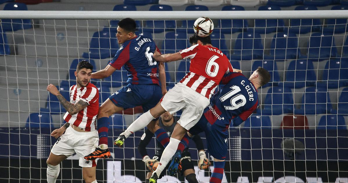 Copa del Rey: Athletic Bilbao edge out Levante to set up final against Barcelona