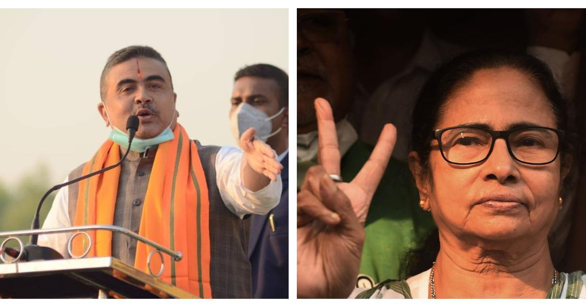 Bengal polls: BJP's Suvendu Adhikari seeks rejection of Mamata Banerjee's nomination from Nandigram