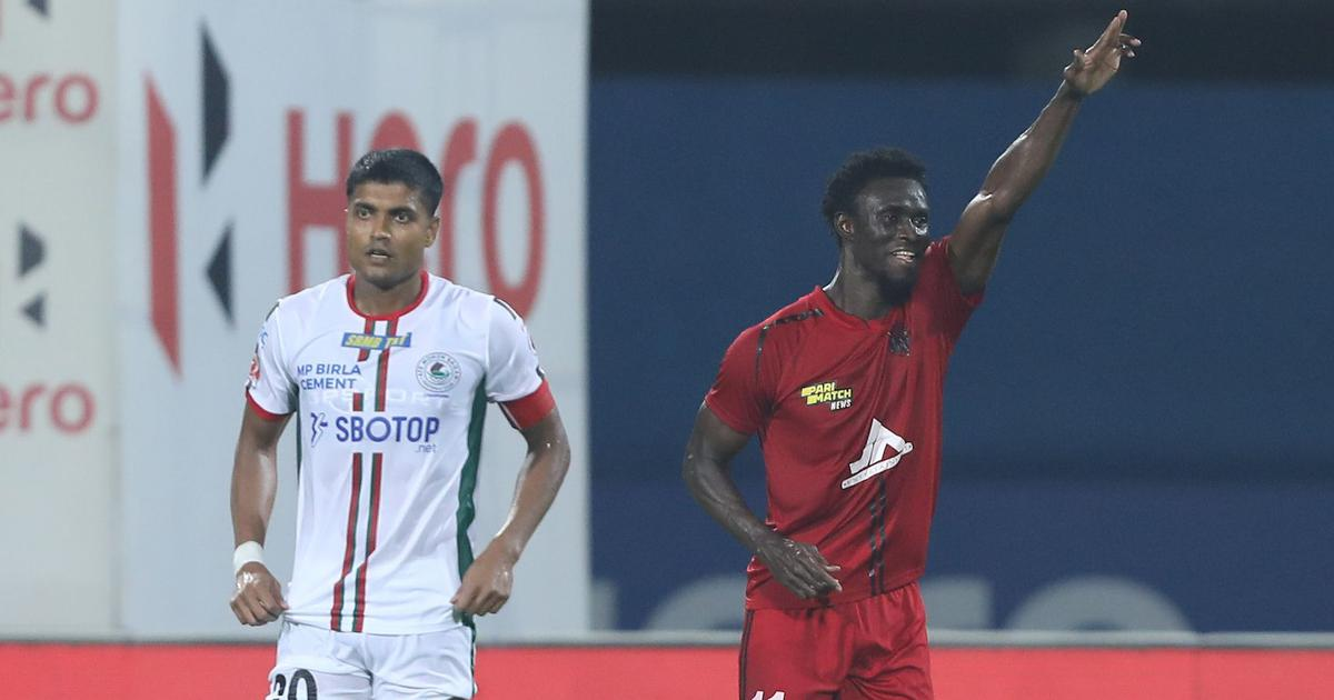 ISL semi-finals: NorthEast United stand up to ATK Mohun Bagan's seasoned stars in tight first leg
