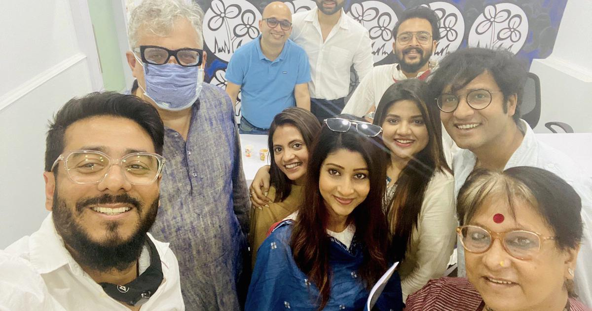Can celebrities help the Trinamool defeat the BJP?