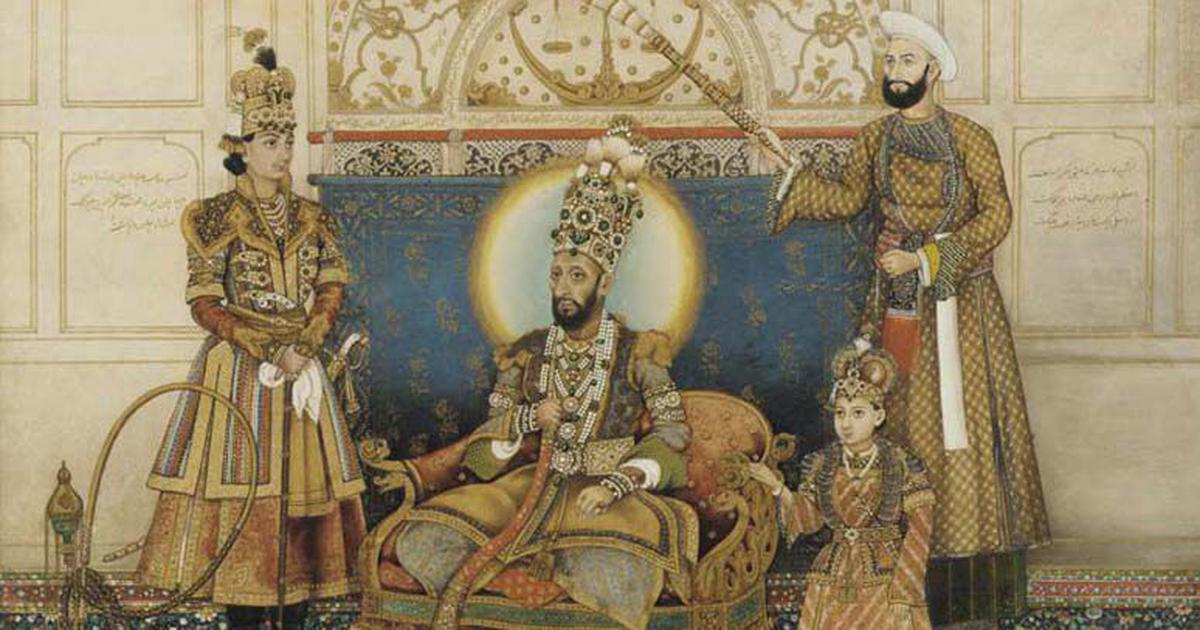 Pomp and power: A rare glimpse of life in the court of India's last Mughal emperor