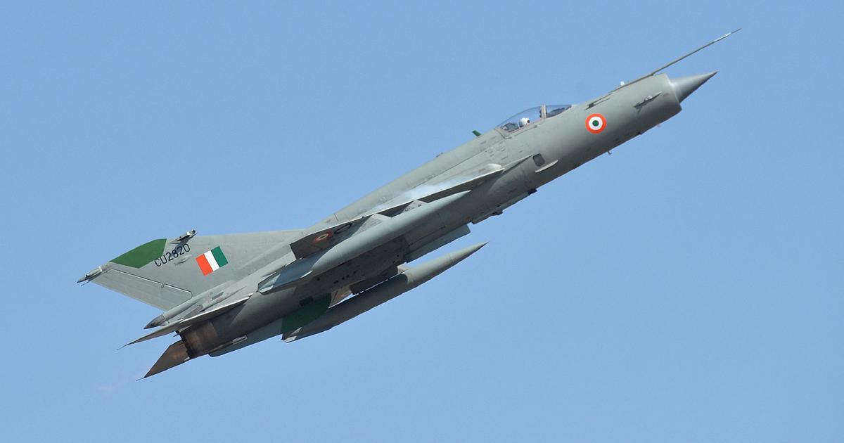 Air Force pilot killed in MiG-21 Bison crash in Punjab