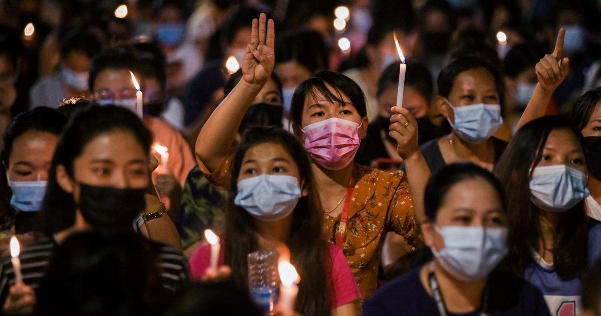 'Revolution blooms from a busted skull on the road': From Myanmar, an appeal to all Indians
