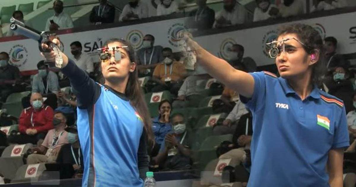 Delhi Shooting World Cup: Gold for Yashaswini Deswal, Manu Bhaker wins silver in 10m air pistol