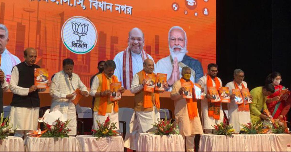 Bengal polls: BJP releases manifesto, says CAA will be implemented in first meeting of Cabinet