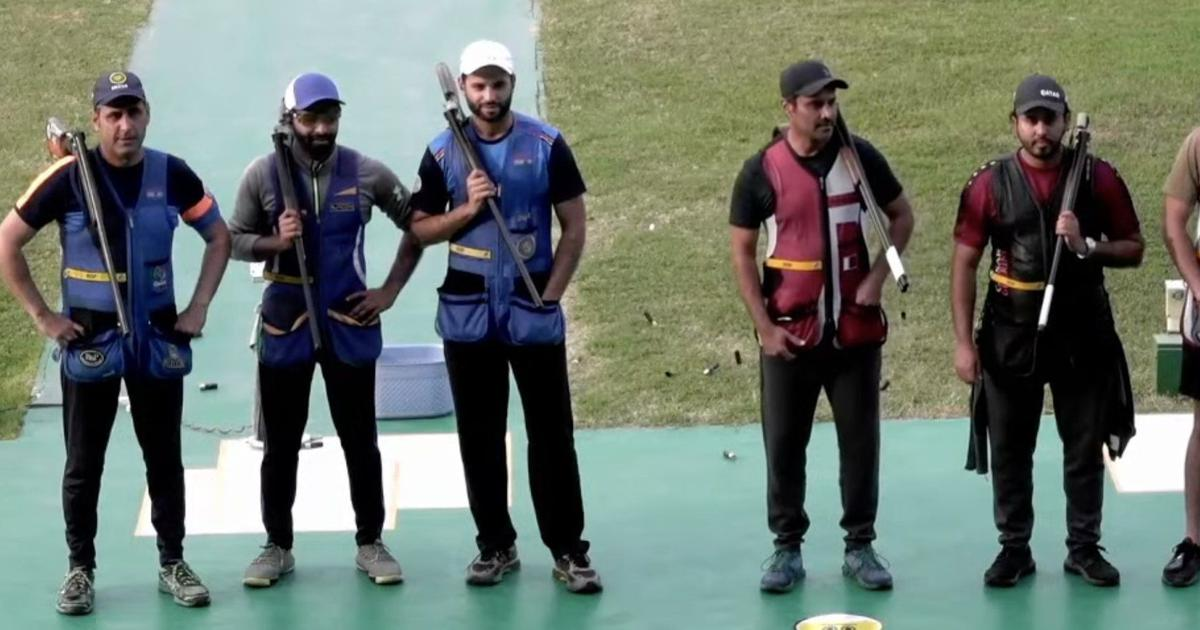 ISSF World Cup: India clinch gold in men's skeet team event and a silver in the women's skeet team