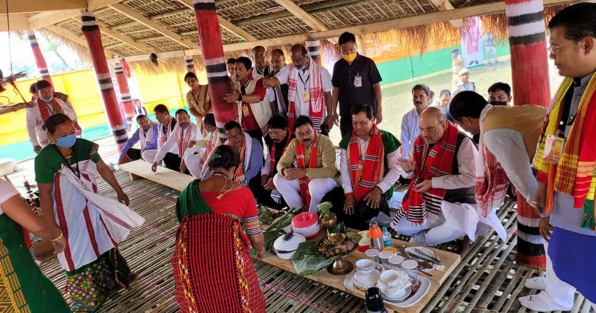 Assam's small ethnic groups dumped BJP over CAA. The party wooed them back – not just for elections