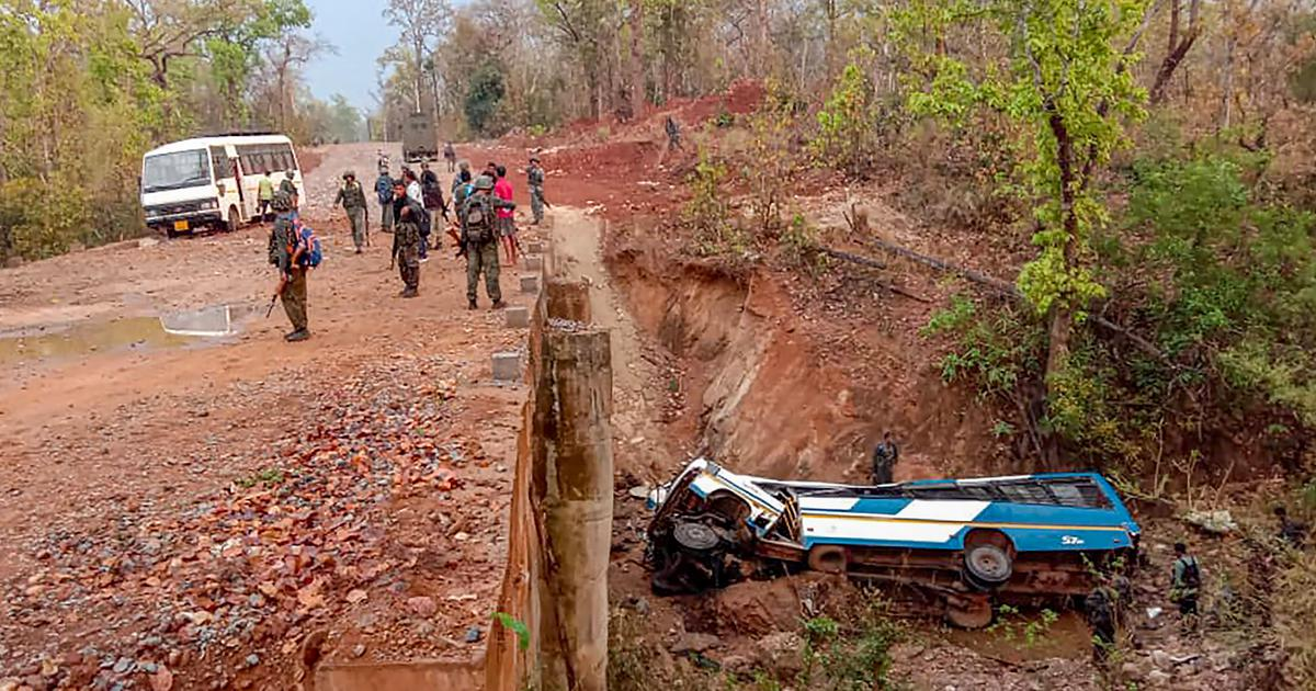 Chhattisgarh: Five security personnel killed, many injured in IED blast in Narayanpur district