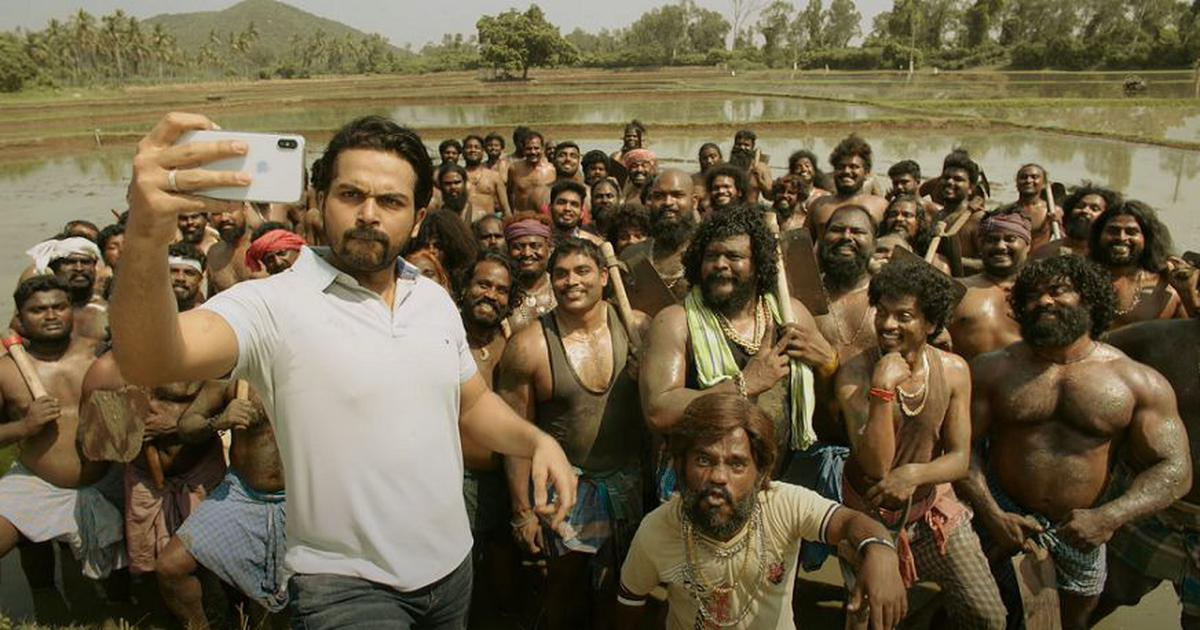 'Sulthan' trailer: Karthi leads 100 men to victory against evil